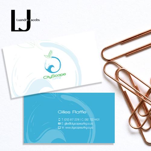 Cityscape Logo-Business Card